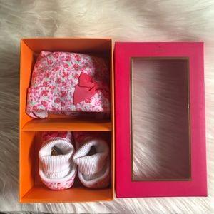 kate spade Matching Sets - Kate Spade cap & bootie gift set
